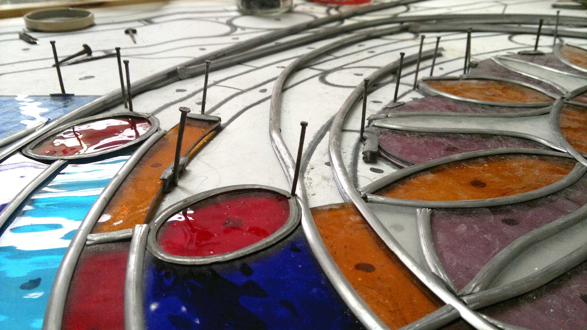 Dipintura ad olio di pala d'altare