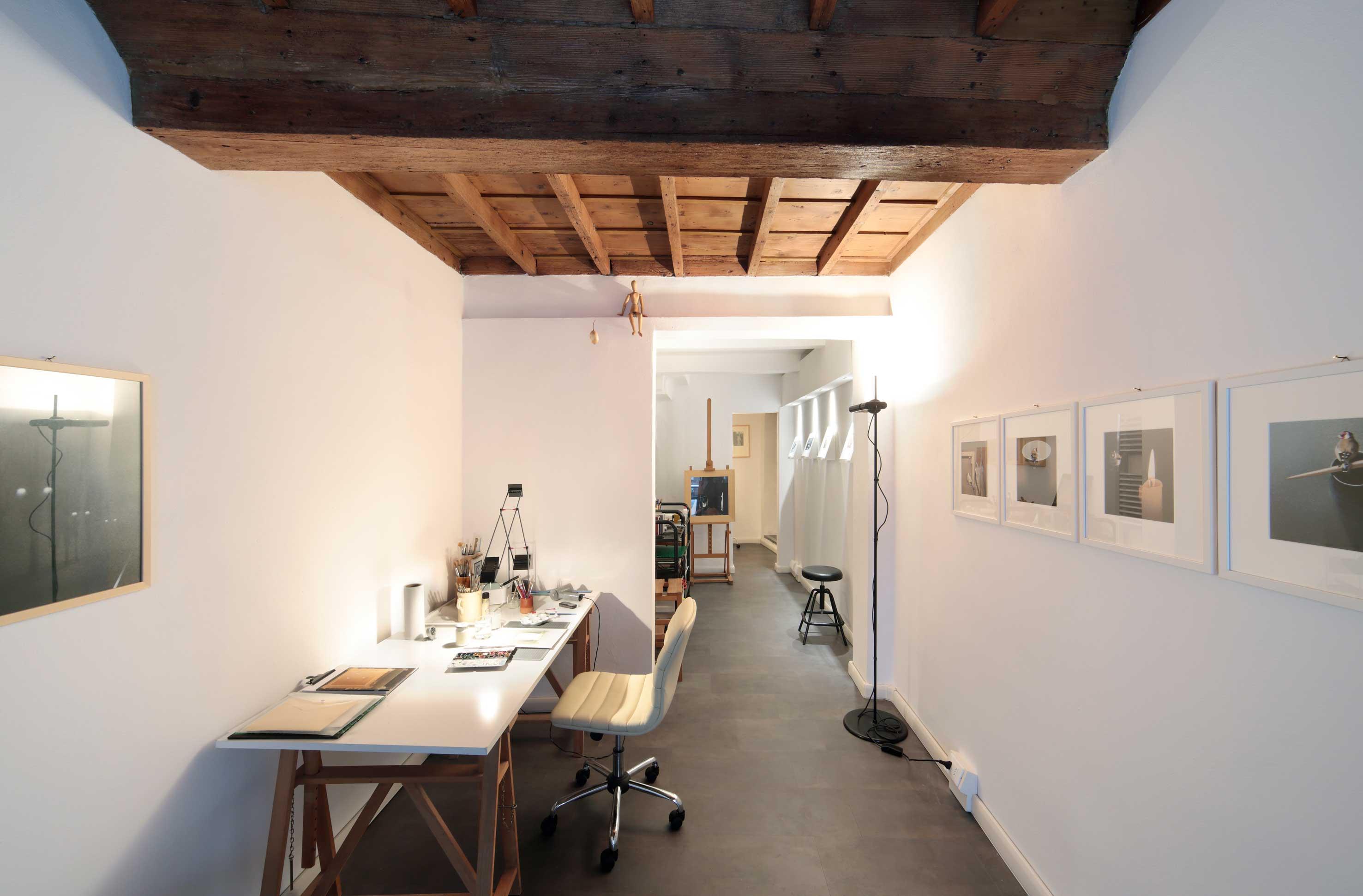 Studio di Paola Bonora - Foto © Tiberio Zucchini