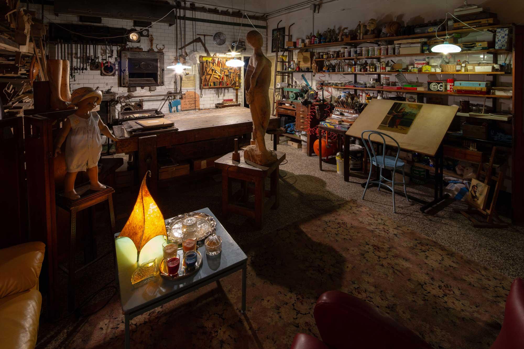 Studio di Flavia Franceschini. Foto © Andrea Bighi