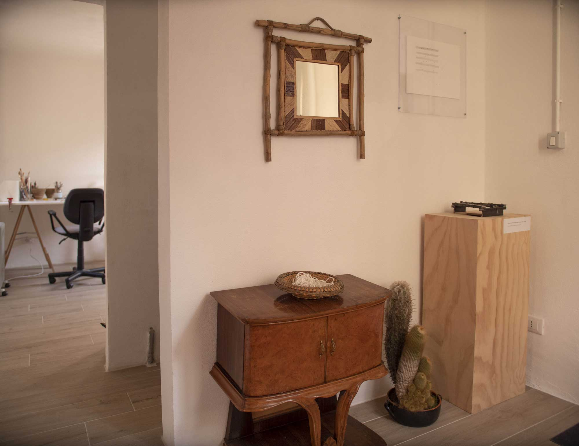 Studio di Elisa Leonini. Foto © Massimo Alì Mohammad