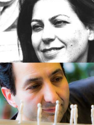 Sima Shafti e Amir Sharifpour